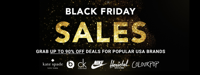 Black Friday The Biggest Sale In The Us Of A Is Here Online Shopping Blog By Ezbuy Singapore